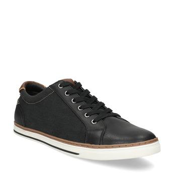 Pánské ležérní tenisky bata-red-label, černá, 841-6616 - 13