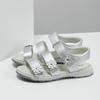 Stříbrné dívčí sandály mini-b, 364-1601 - 16