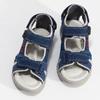 Dětské kožené sandály modré mini-b, 263-9605 - 16