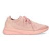 Dámské světle růžové tenisky z úpletu power, růžová, 509-5217 - 19