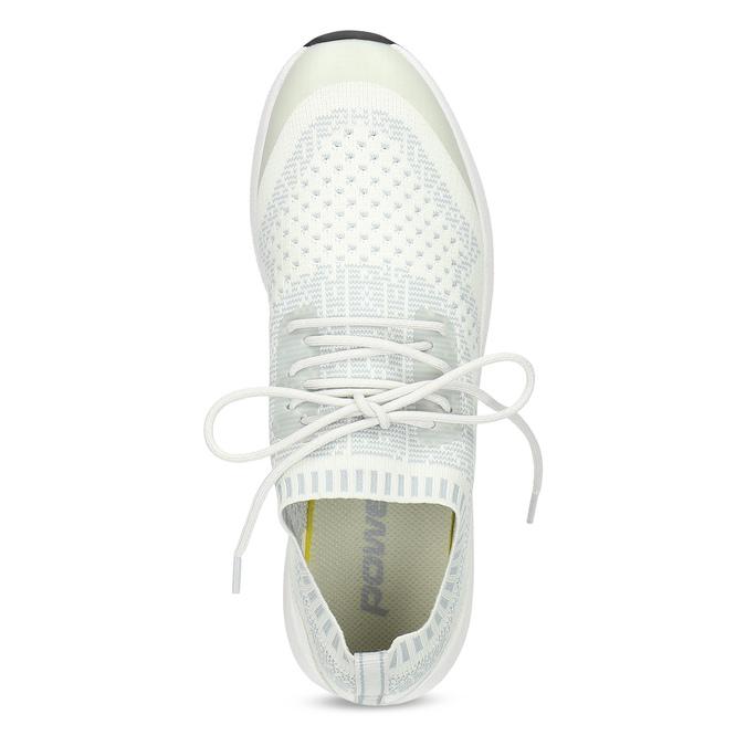 Dámské tenisky ve sportovním stylu power, bílá, 509-2217 - 17