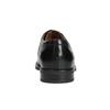 Pánské kožené polobotky s prošitím na špici bata, černá, 824-6625 - 16