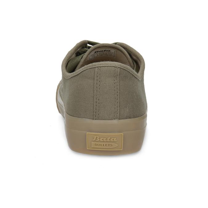 Pánské khaki tenisky bata-bullets, zelená, 889-7244 - 15