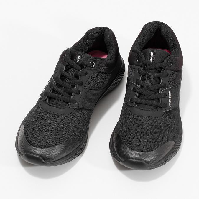 Černé tenisky s měkkou stélkou power, černá, 509-6855 - 16