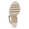Sandály na masivním podpatku flexible, béžová, 761-2616 - 18