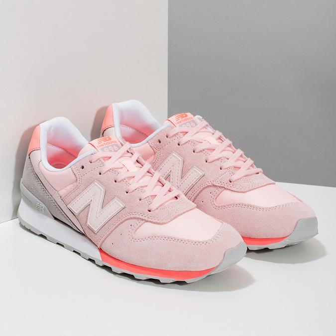 Dámské růžové tenisky new-balance, růžová, 503-5280 - 26