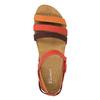 Dámské kožené sandály el-naturalista, červená, 564-5011 - 19