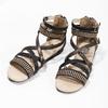 Dívčí páskové sandály bullboxer, černá, 361-6610 - 16