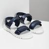 Sandály se strukturovanou podešví modré mini-b, modrá, 361-9613 - 26