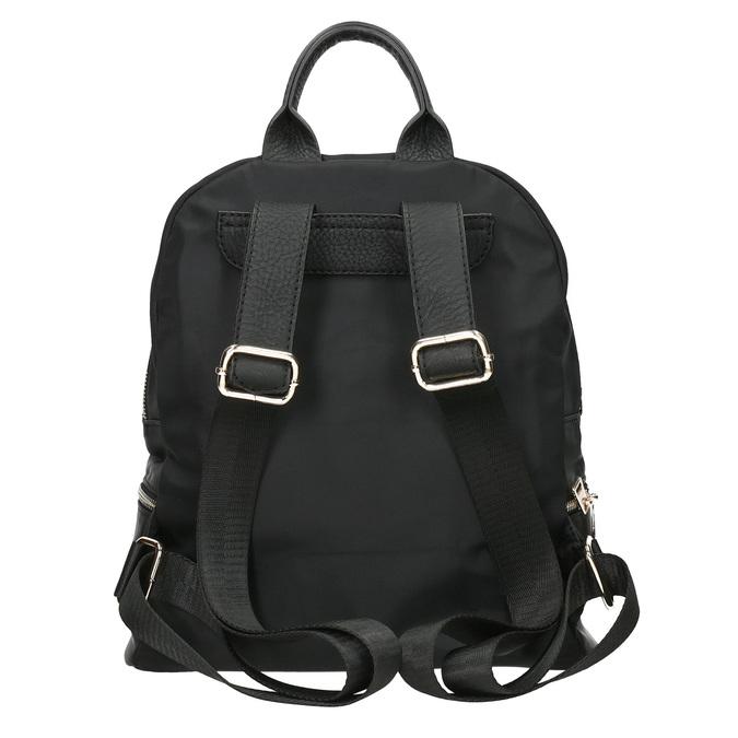 Malý černý batůžek bata, černá, 969-6688 - 16