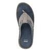 Prošívané kožené pánské žabky bata, šedá, 866-9845 - 17