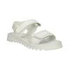 Bílé dívčí sandály se strukturovanou podešví mini-b, bílá, 361-1613 - 13