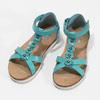 Tyrkysové dívčí sandály mini-b, tyrkysová, 361-9614 - 16