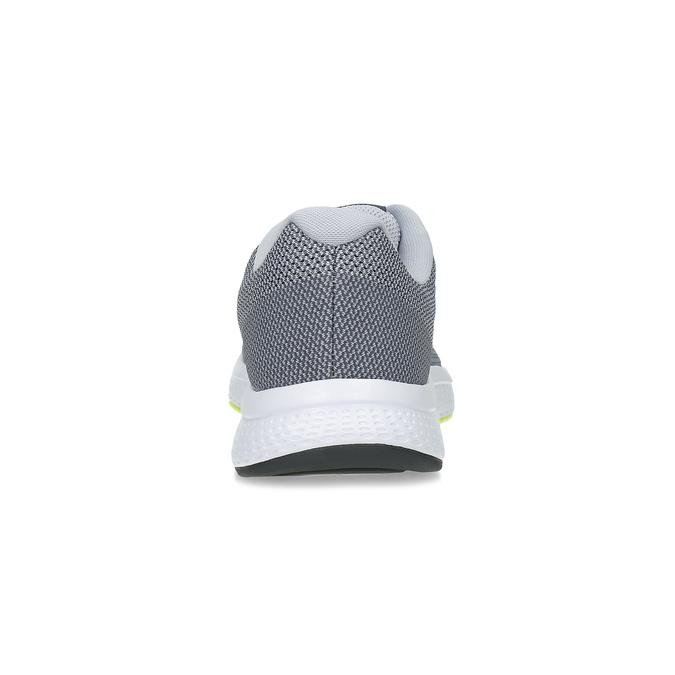 Šedé tenisky s reflexními prvky nike, šedá, 809-2623 - 15