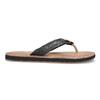 Černé kožené dámské žabky bata, černá, 566-6645 - 19
