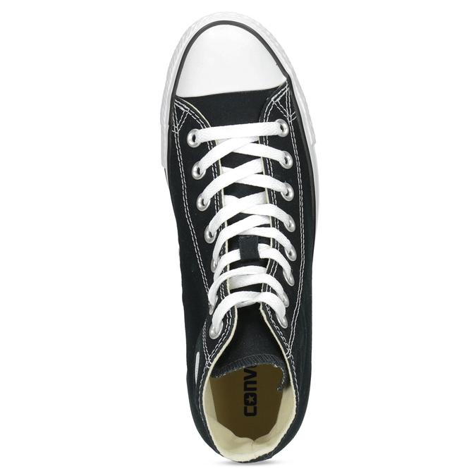 Pánské černo-bílé tenisky s gumovou špicí converse, černá, 889-6278 - 17