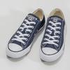 Dámské textilní tenisky s gumovou špičkou converse, modrá, 589-9279 - 16