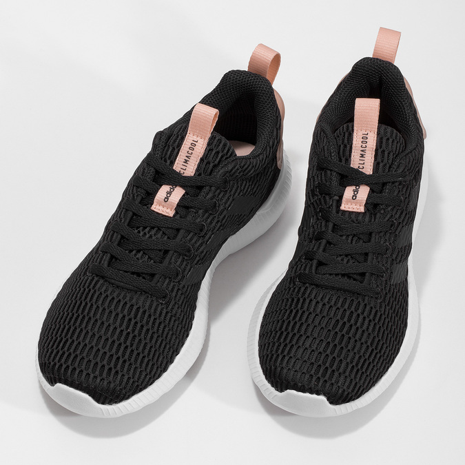 Dámské tenisky se síťovanou strukturou adidas, černá, 509-6635 - 16