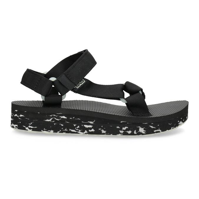 Dámské sandály v Outdoor stylu teva, černá, 569-6533 - 19