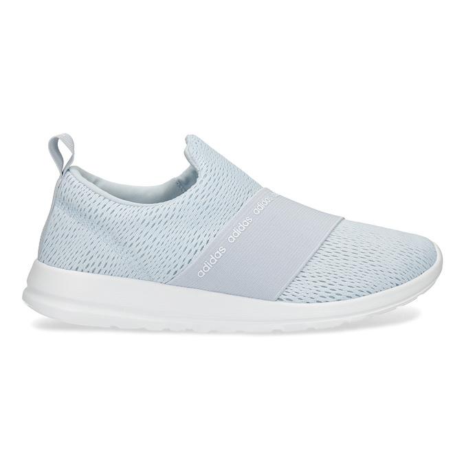 Světle modré Slip-on tenisky adidas, modrá, 509-2565 - 19