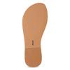 Kožené dívčí sandálky s kamínky mini-b, bílá, 364-1126 - 18