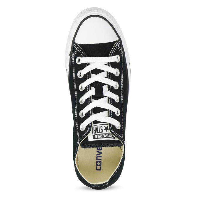 Dámské černé tenisky s gumovou špičkou converse, černá, 589-6279 - 17