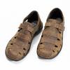 Kožené pánské sandály hnědé bata, hnědá, 864-4600 - 16