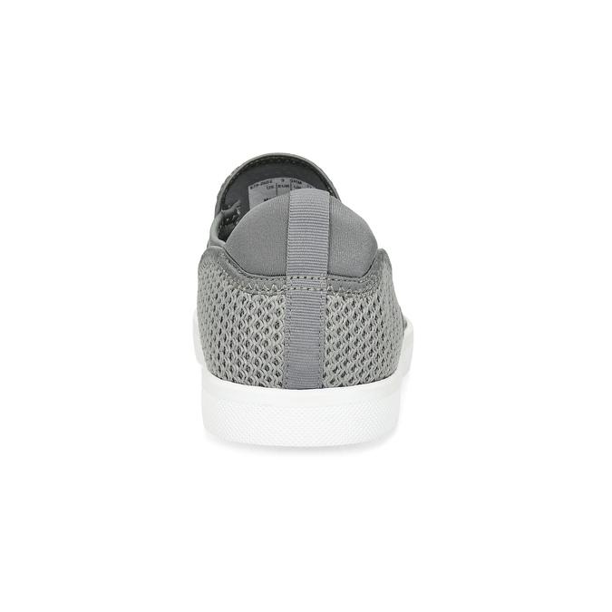Šedé Slip-on boty pánské bata-red-label, šedá, 839-2602 - 15