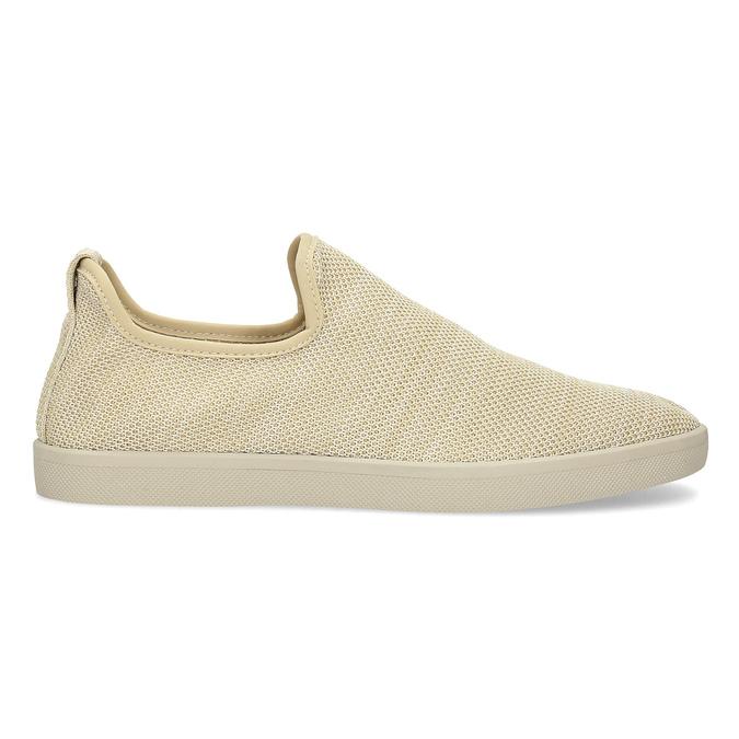 Béžové pánské Slip-on boty bata-red-label, béžová, 839-8601 - 19