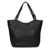 Dámská černá kabelka se cvoky bata, černá, 961-6787 - 16