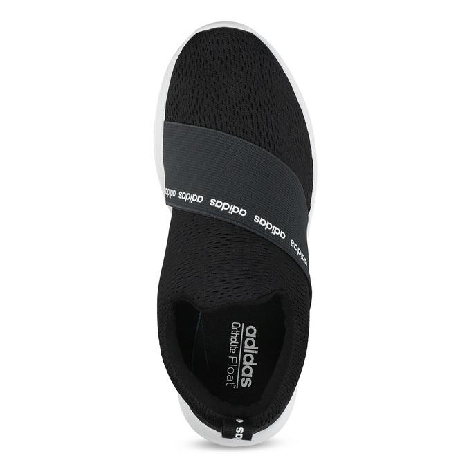 Černé nazouvací tenisky adidas, černá, 509-6565 - 17