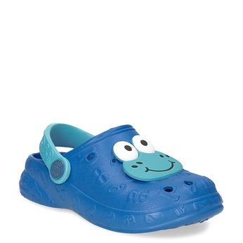 Modré dětské sandály s žabkou coqui, modrá, 272-9651 - 13
