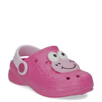 Dívčí sandály se žabičkou růžové coqui, růžová, 272-5651 - 13