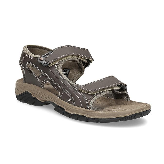 57c0e18b6e Weinbrenner Pánské kožené sandály na suchý zip - Muži