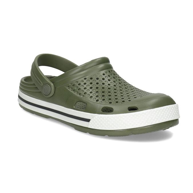 Pánské sandály typu Clogs khaki coqui, khaki, 872-7656 - 13