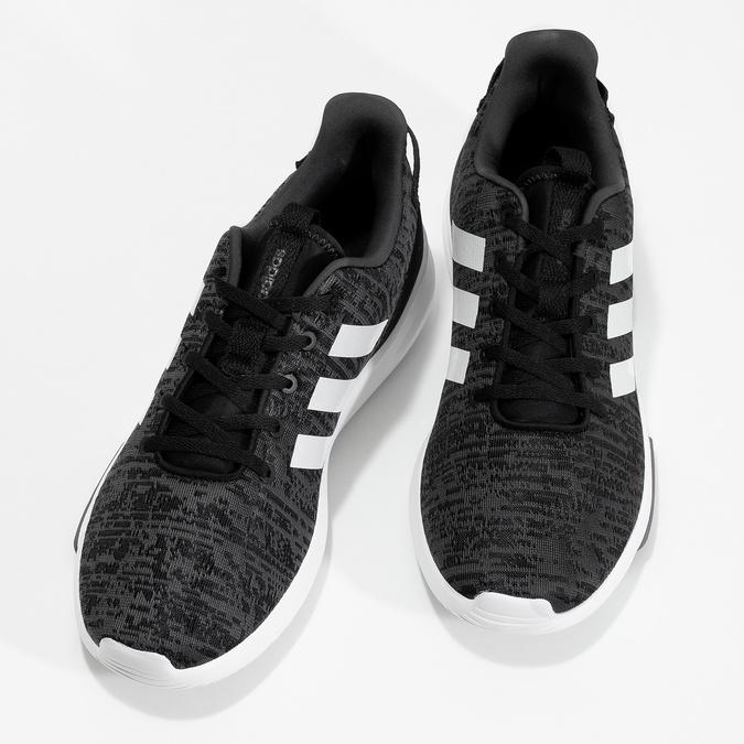 Pánské tenisky s melírovaným designem adidas, černá, 809-6301 - 16