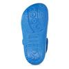 Modré dětské sandály s žabičkou coqui, modrá, 372-9655 - 18