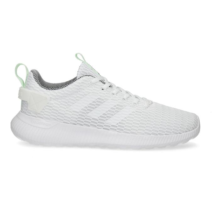 Bílé síťované tenisky adidas, bílá, 509-1635 - 19