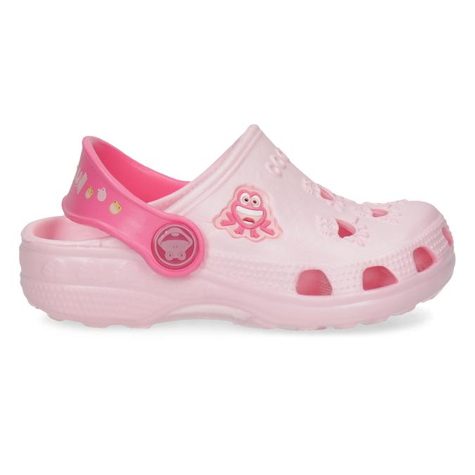 Dívčí růžové sandály se žabičkou coqui, růžová, 272-5650 - 19