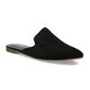 Pantofle z broušené kůže černé vagabond, černá, 573-6004 - 13