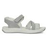 Kožené sandály v Outdoor stylu šedé weinbrenner, šedá, 566-2634 - 19