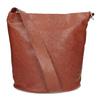 Kožená kabelka se širokým popruhem hnědá vagabond, hnědá, 966-4066 - 16