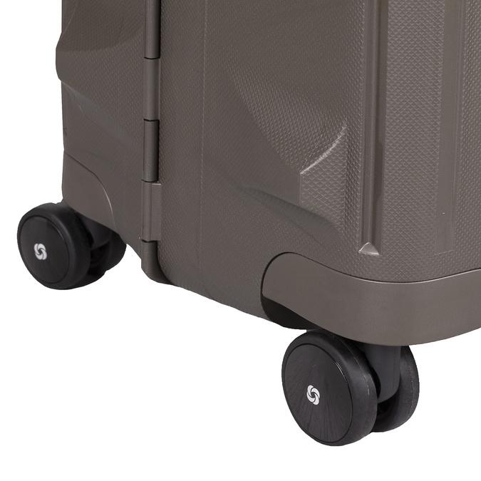 Černý kufr na kolečkách samsonite, hnědá, 960-4612 - 16