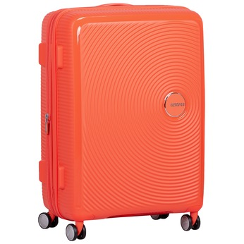 Oranžový kufr na kolečkách american-tourister, oranžová, 960-5614 - 13