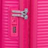 Růžový skořepinový kufr american-tourister, růžová, 960-5615 - 15