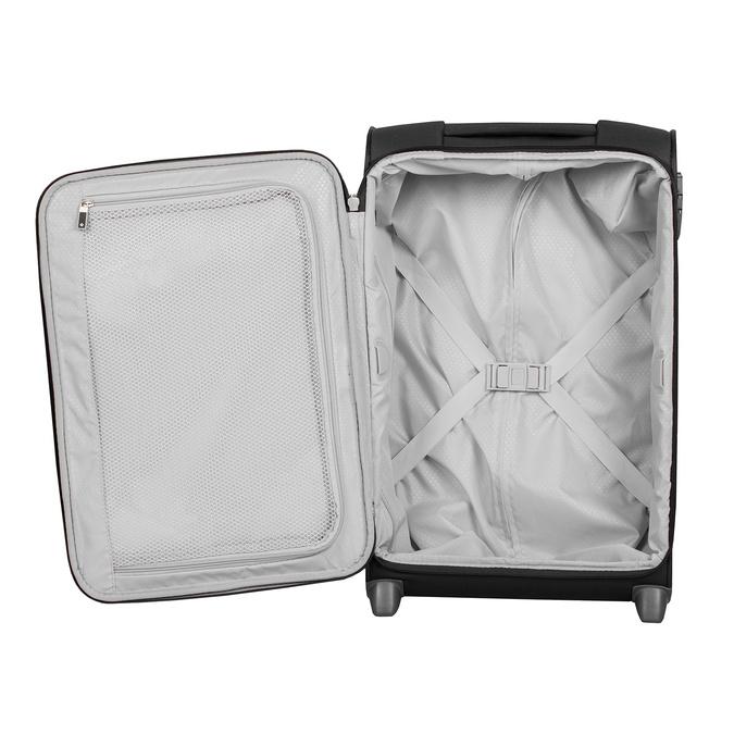 Menší cestovní kufr černý samsonite, černá, 969-6617 - 17