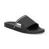 Jednoduché černé pánské nazouváky bata, černá, 861-6602 - 13