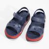 Dětké tmavě modré sandály coqui, modrá, 372-9658 - 16