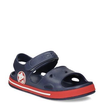 Dětké tmavě modré sandály coqui, modrá, 372-9658 - 13