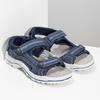Modré chlapecké sandály weinbrenner, modrá, 463-9605 - 26
